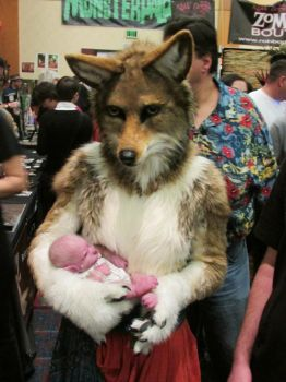 Coyote Mother by FeralFacade
