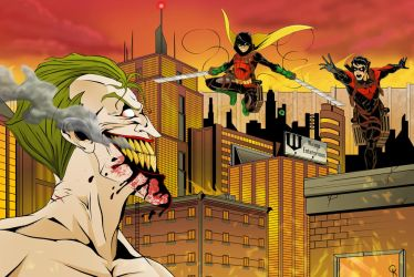 Attack on Batman by TimelessUnknown