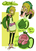 Pokemon Trainer Olive reffageeee by MrsDrPepper
