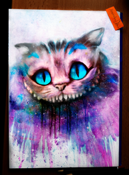 Cheshire Cat by Deboir