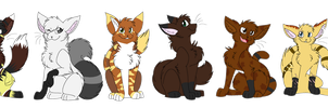 P.Com - Warrior cats group by Marcella-Youko