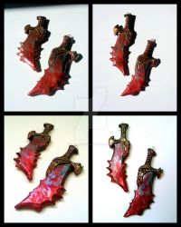 Kratos Blades of Chaos ~ God of War by ElysianField