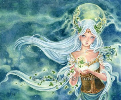 Ivy Goddess (new) by MeredithDillman