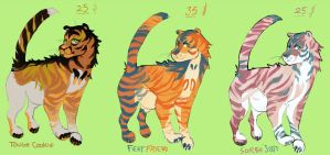 adopt} tiger parade LOWERED PRICE $15 by fqs