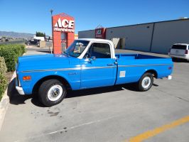 1971 Chevrolet C10 Custom by CadillacBrony