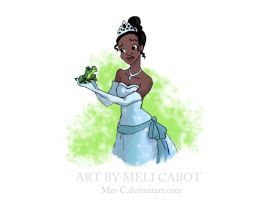 The Princess and the Frog by Mrs-C