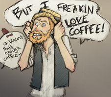 Vincent + Coffee by Jb-612