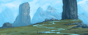 Tiny River by ehecod