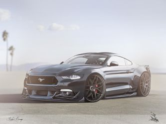 Ford Mustang GT 2018 by REDZ166