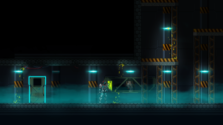 Beyond Human  In Game Mock Up by domino99designs