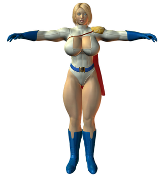 Preview: Powergirl Again by willdial