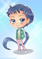 Chibi Seiya male by unconventionalsenshi