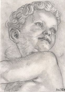Tiziano - Putto by AaquilaS