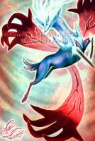 Pokemon X + Y Legendaries - Xerneas and Yveltal