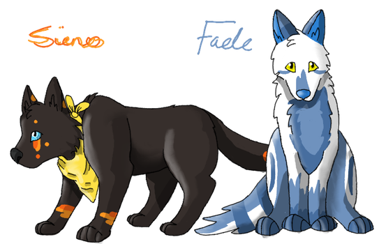Sieno and Fade by GreatestAllie