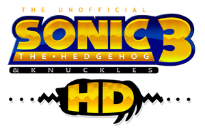 Sonic 3 And Knuckles HD Logo by NuryRush