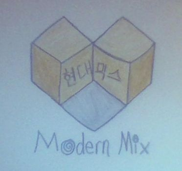 Modern Mix Logo- Updated by JiminsJams47