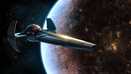 Sith Infiltrator by Enterprise-E