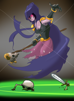 Clash of Clans Troop: the Witch by Creepy99