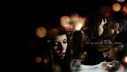 Elena And Stefan by hazelxxx
