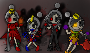 We Kill For Fun!! by MonserratCrazy5