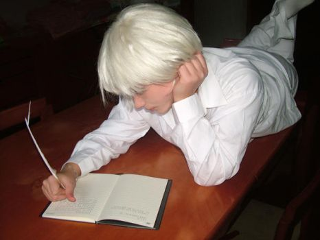 Cosplaying Near, Death Note by CryingOnyxTears