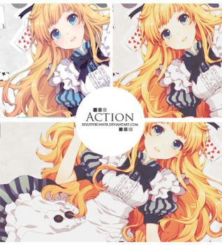 6.action-psd by xFluffyBunnyx