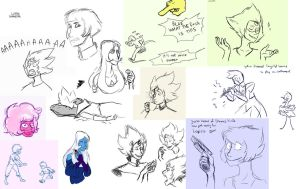 Sketchdump 4 by LittleSnaketail