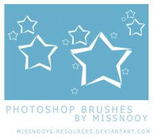 Star brushes by MissNooys-Resources