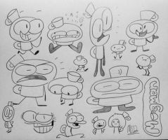 Mugaman Doodles by MisterSomeone12