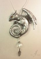 Silver griffin by AlviaAlcedo