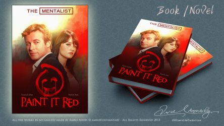 The Mentalist - Paint it red book cover 2 by artistamroashry