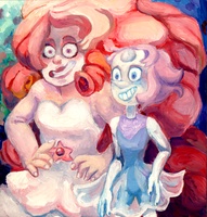 Pearl and her Rose (redraw) by kotiyava