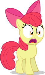 CMC - Applebloom Is Shocked by TomFraggle