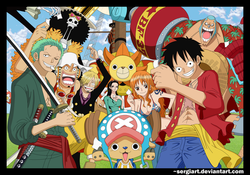 One Piece - The great reunion by SergiART