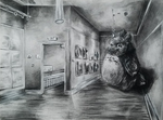 perspective project ft totoro by EmpatheticDinosaur