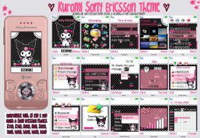 Kuromi Sony Ericsson Theme by blackheartqueen