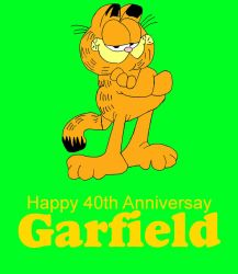 Garfield 40th Anniversary by mrentertainment
