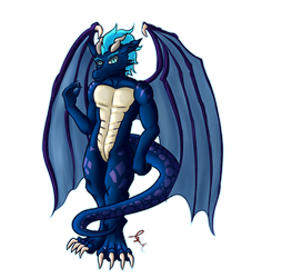 Jay - Dragon - with transparency by Jaywalk5