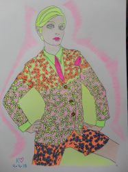 Vogue 67 colorful Dandy Suit by Keithzdarkside