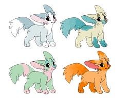 OTA dog adopts (CLOSED) by R3D-Adopts