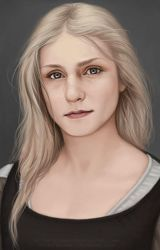 Sigyn Portrait by LeoNealArt
