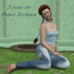 5 poses for PE (freebie) by AelinNamarie