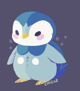 Piplup by Chigle