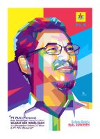 A Man in PopArt WPAP by opparudy