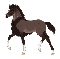 N3317 Padro Foal Design for IloveWerewolf1 by casinuba