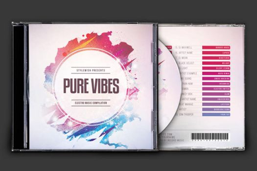 Pure Vibes CD Cover Artwork by styleWish