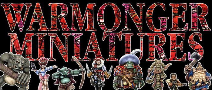 Warmonger Banner Art by WarmongerMiniatures