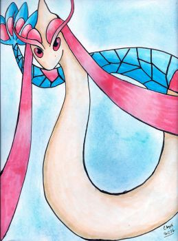 Milotic by KittyCatChey