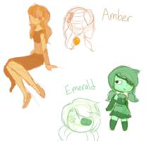 Gem Concepts by Poke-Chann